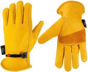 KIM YUAN Leather Work Gloves