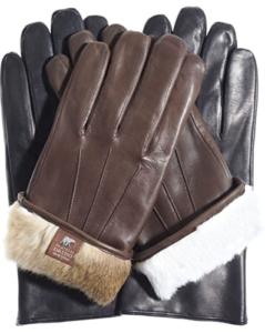 Rabbit Fur Gloves